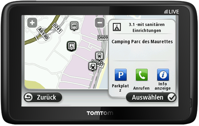 tomtom go live camper caravan navigationsger t. Black Bedroom Furniture Sets. Home Design Ideas