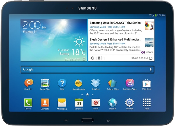 samsung galaxy tab 3 10 1 gt p5210 wifi 16gb tablet. Black Bedroom Furniture Sets. Home Design Ideas