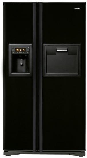 beko gne v422 p side by side k hlschrank vorteile nachteile eigenschaften. Black Bedroom Furniture Sets. Home Design Ideas